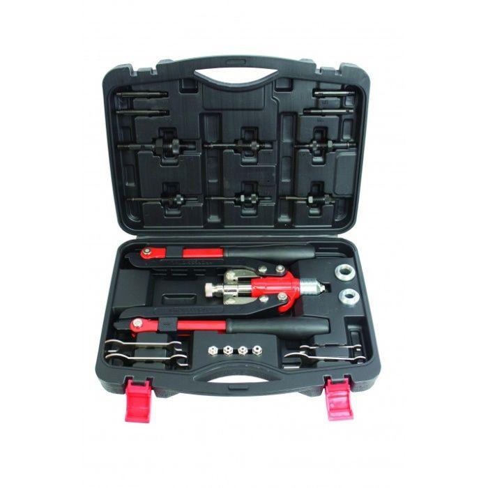 Rebitador Porcas até 12mm e Rebites 6.4mm