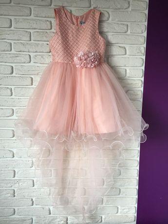 Платье нарядное, рост 122