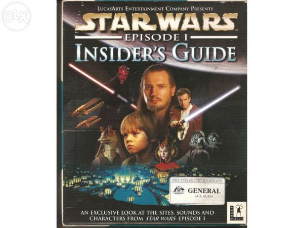 Enciclopédia star wars - episode 1 insider's guide