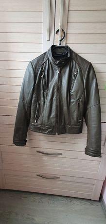 Кожаная куртка Leonardo Armani Hugo Boss