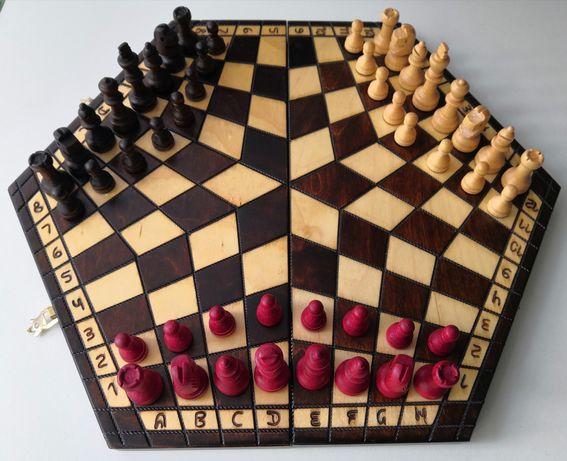 Шахматы для троих (трехсторонние)