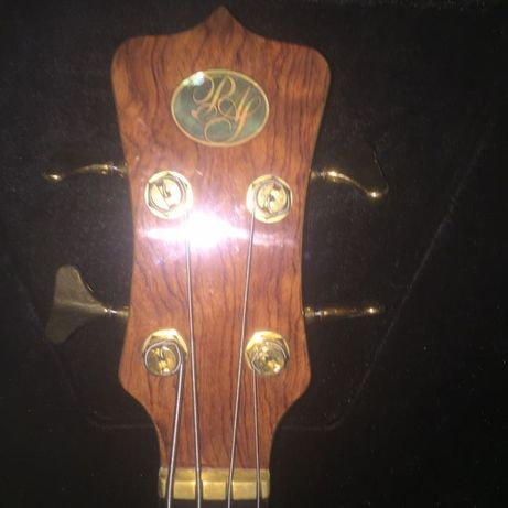 Profesjonalna gitara basowa PAS lutnicza neck thru jak alembic