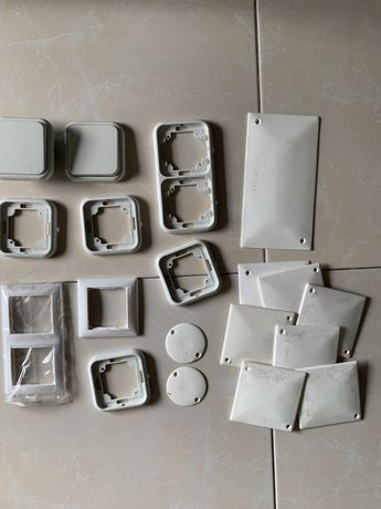Material elétrico - espelhos, tampas, interruptores