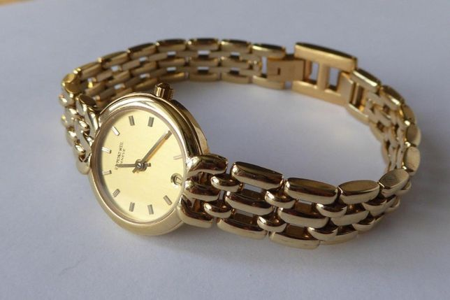 Часы женские Швейцарсикие Raymond Weil 18K позолота