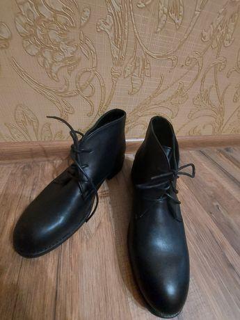 Ботинки кож.зам.женские