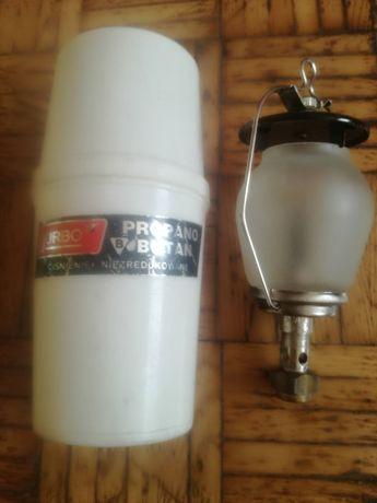 Turystyczna Lampa gazowa na butle