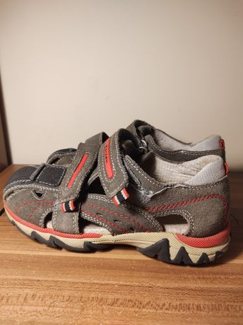 Skórzane sandały Bartek r.32, wkl.wewn.19,5cm