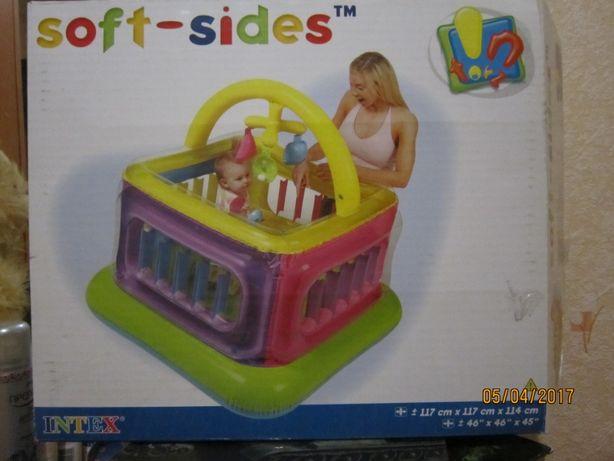 Детский Надувной Игровой Манеж Intex. Детский надувной бассейн INTEX