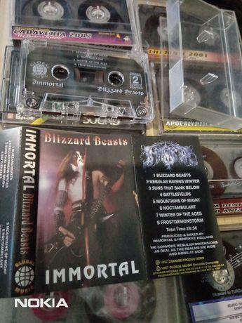 Продам студийную кассету immortal 1997 года