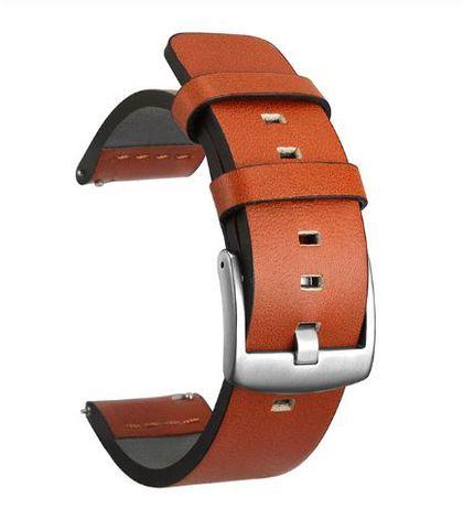 Pasek do zegarka skórzany 18, 20, 22 24mm różne kolory