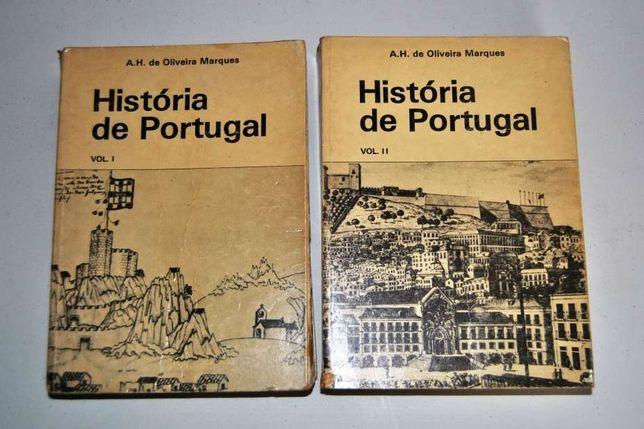 História de Portugal - volumes 1 e 2