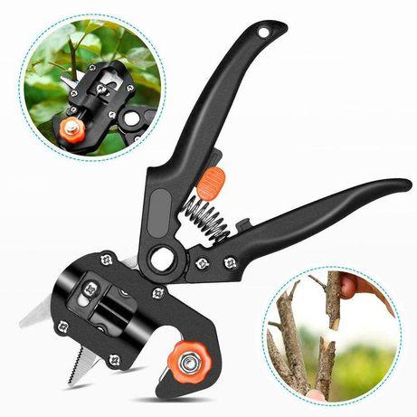Профессиональный прививочный секатор Grafting Tool с 3 ножами качество