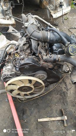 Двигатель Форд Транзит 2.5 D 98г. Полный комплект для Газели.