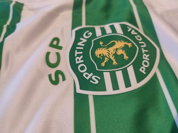 Camisola Sporting SCP 21/22 Nova