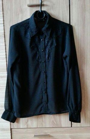 Koszula czarna mgiełka M 38