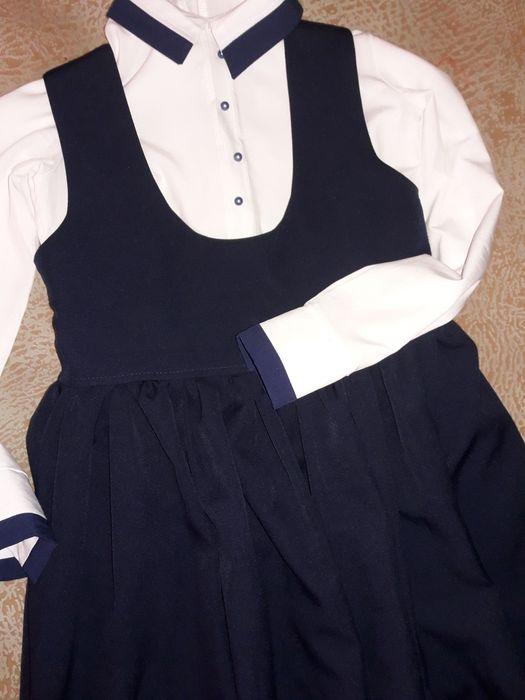 Школьная форма блуза и платье Кривой Рог - изображение 1