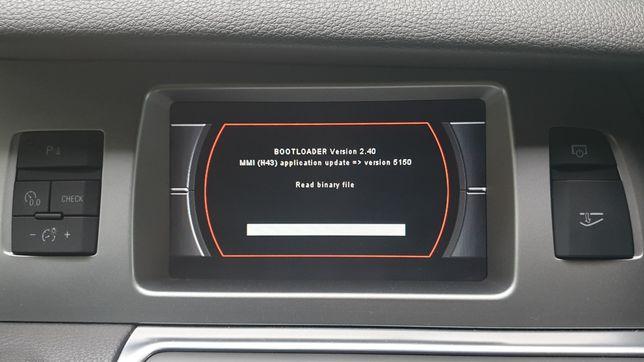 AUDI - Correção de Erro / Bloqueio Modo Bootloader MMI 2G A4 A5 A6 Q7