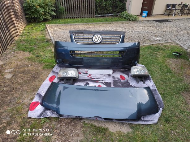 Kompletny przód VW T5 Caravelle Multivan LD7U KJ