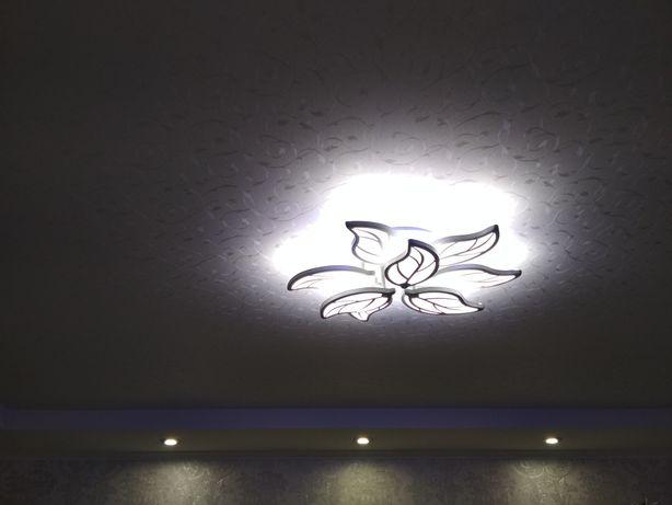 Фактурные натяжные потолки со скидкой до 30%. 3D потолки
