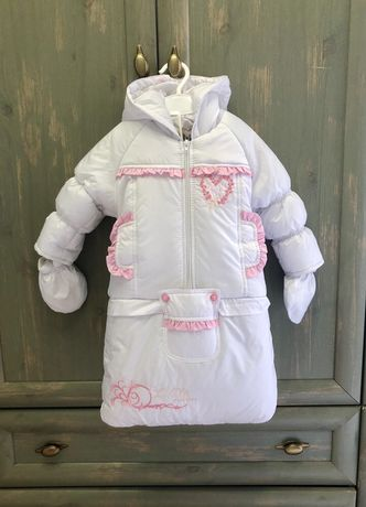 Зимний конверт комбинезон куртка полукомбинезон 3 в 1
