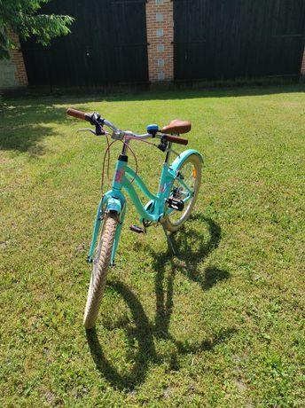 Rower dla dziewczynki, jak nowy, praktycznie nieużywany