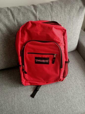Plecak czerwony lekki, nowy