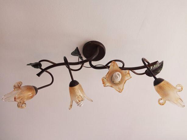 Żyrandol, lampa sufitowa, stan bardzo dobry! Elegancki! Cena!