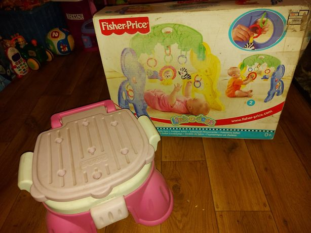 Nocnik i zabawka dla niemowlęcia Fisher-Price