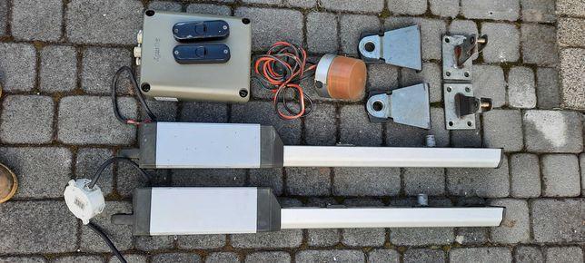 Napęd bramy dwuskrzydłowej- somfy Ixengo L ze sterownikiem FX24