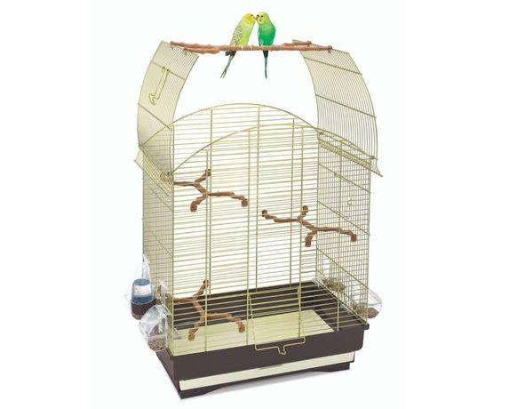 Gaiola Aves Agata Dourada 58*33*62,5 Cm