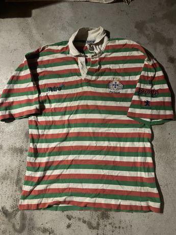 Camisola antiga da Seleção Portuguesa de Rugby
