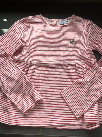 Tshirt de manga Lacoste 6 anos
