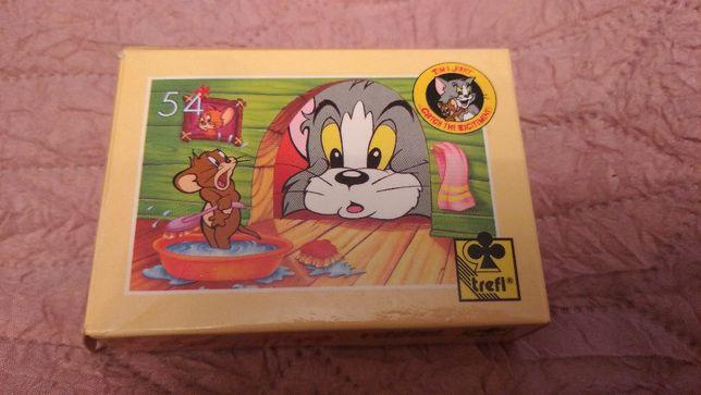 Puzzla Trefl Tom & Jerry Catch the Excitement układanka puzzle 54