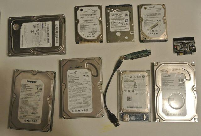 """Dyski 3,5"""" 2,5"""" ATA SATA 500GB i inne adaptery ata na sata"""