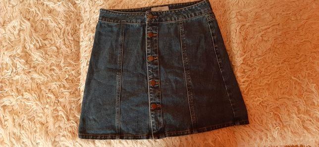 Spódniczka mini jeansowa