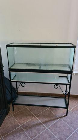 Aquario com móvel 1m