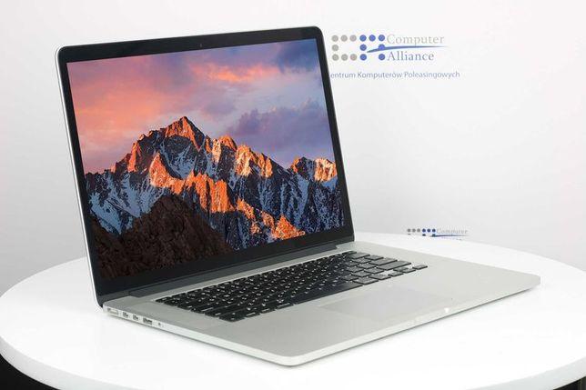 Apple MacBook Pro A1398 i7 16GB 256GB SSD 15,4 RETINA WROCŁAW GW6M