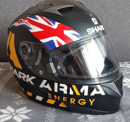 Kask Shark S700S, pinlock, blenda, motor, motocykl, kask XL