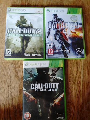 Call od Duty Balck Ops ,Modern Warfare 4 ,Battlefield