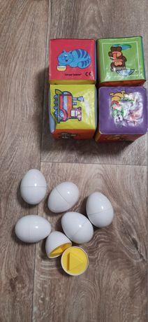 Развивающая игрушка, мягкие кубики