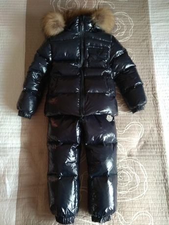 Зимний костюм moncler 4-5років/110-116см