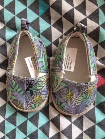 Buciki buty espadryle kapcie papcie H&M r.16/17