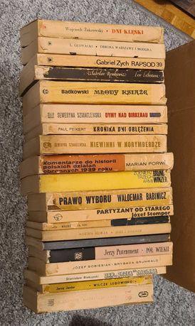 Książki używane o tematyce historycznej i innej