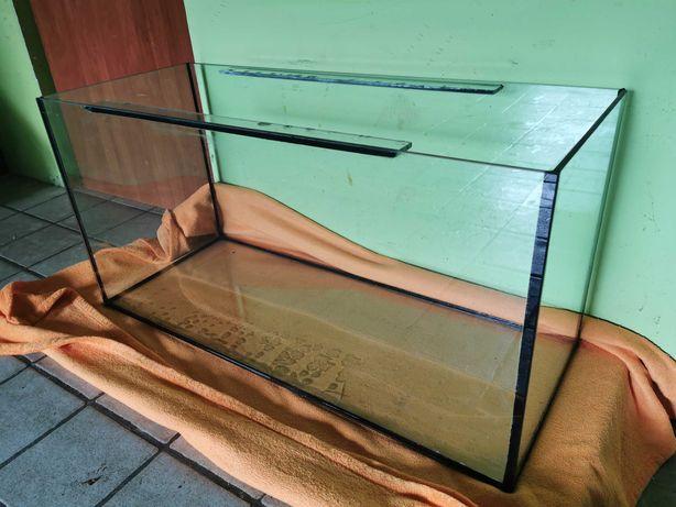 Akwarium proste 200 litrów 100 x 40 x 50 wzmocnione szczelne