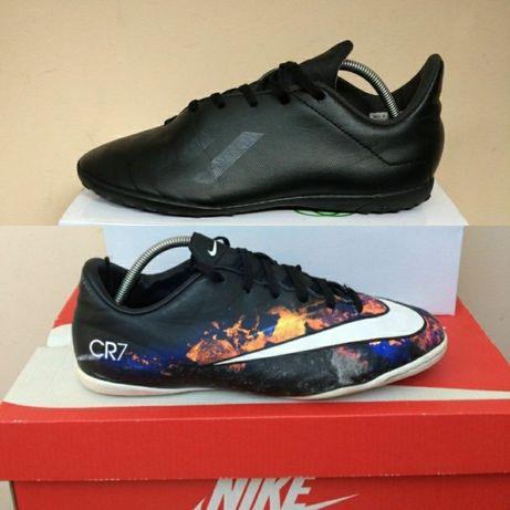 Nike Adidas кроссовки кеды футзалки 37 38р ст. 24см