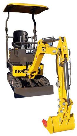 Minikoparka NEX N10 ramię skrętne BIŁGORAJ