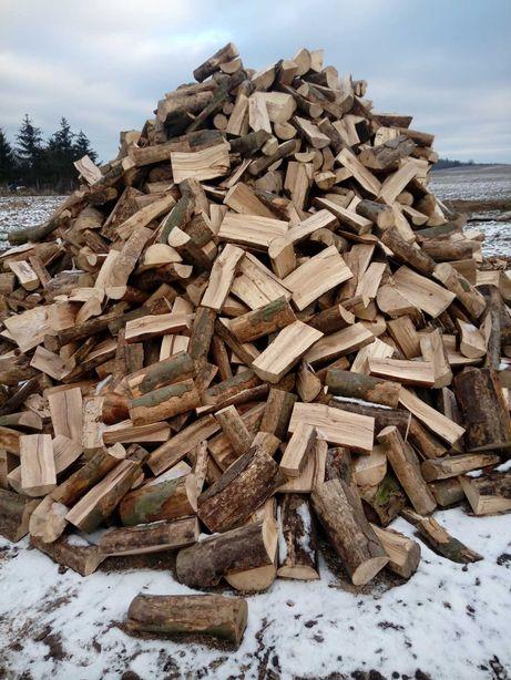 Drewno Drzewo kominkowe opałowe sosna brzoza olcha dębina buczyn NOa