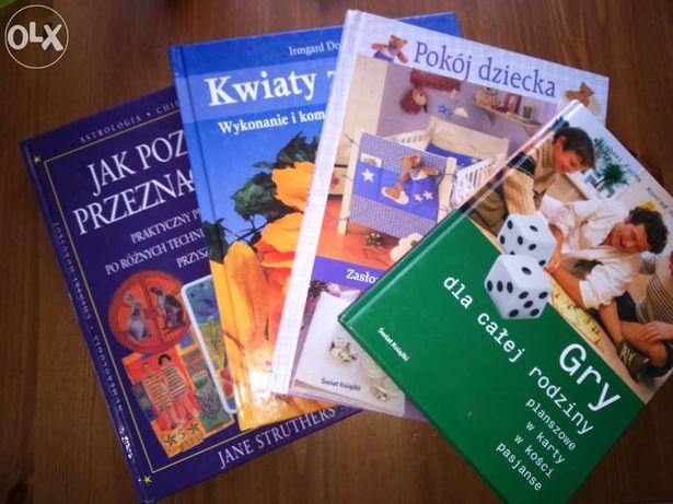 książki poradniki 4 w cenie 1