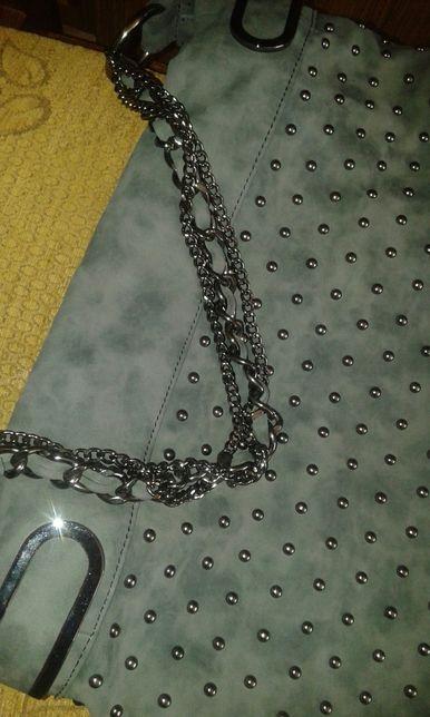 Torba, torebka z łańcuszkami