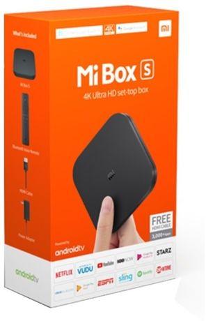 Box Android TV XIAOMI Mi Box S (4K Ultra HD - 8 GB)